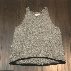 Madewell gray sweater tank
